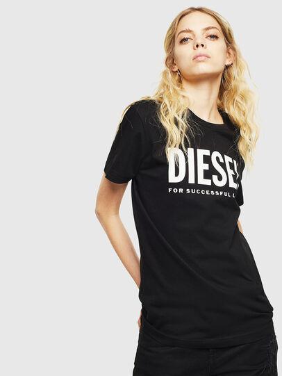 Diesel - T-DIEGO-LOGO, Schwarz - T-Shirts - Image 2