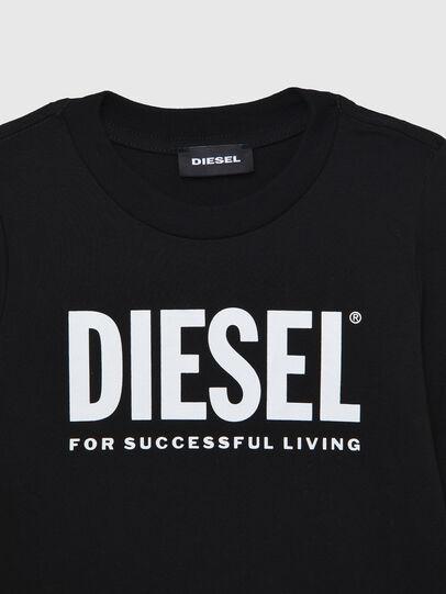 Diesel - TJUSTLOGOB ML-R, Schwarz - T-Shirts und Tops - Image 3