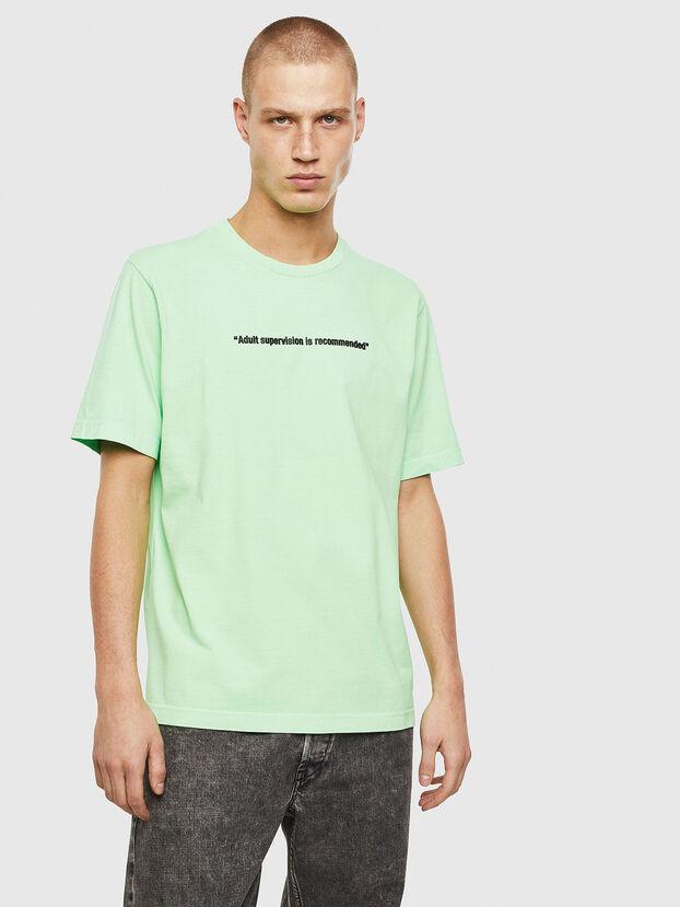 T-JUST-NEON, Neongrün - T-Shirts