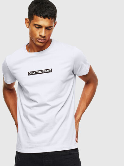 Diesel - T-DIEGO-T16, Weiß - T-Shirts - Image 1