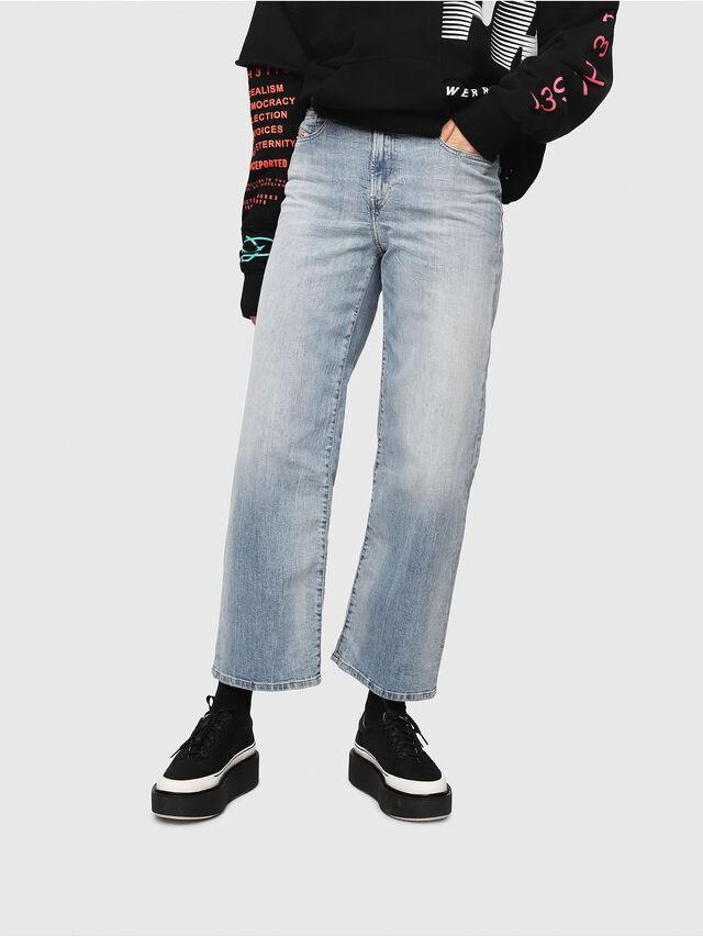 Diesel - Widee 081AL, Hellblau - Jeans - Image 1