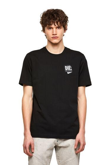 T-Shirt mit gefaltetem Logo-Patch