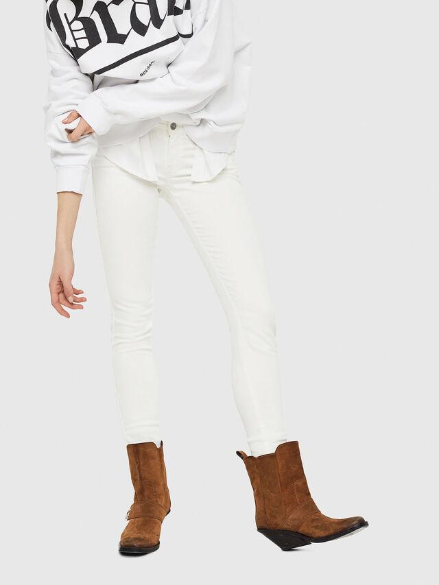 Diesel - Gracey JoggJeans 088AZ, Weiß - Jeans - Image 4