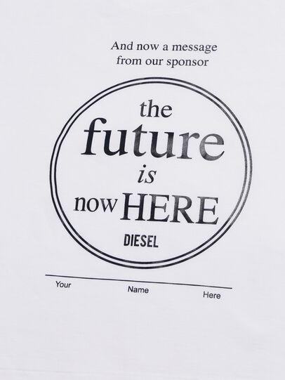 Diesel - TARTIB-R, Weiß - T-Shirts und Tops - Image 3