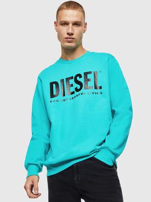 S-GIR-DIVISION-LOGO, Azurblau - Sweatshirts