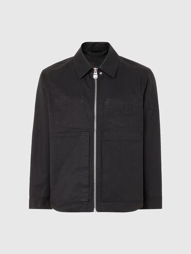 Hemdjacke aus Baumwolltwill
