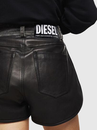Diesel - L-FARA, Schwarz - Kurze Hosen - Image 5