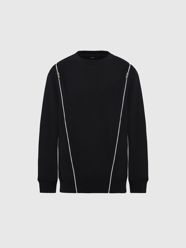 F-GEORGIA, Schwarz - Sweatshirts