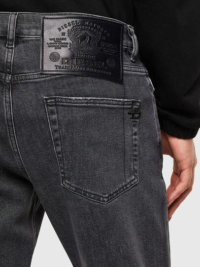 Diesel - D-Strukt 009RE, Schwarz/Dunkelgrau - Jeans - Image 4