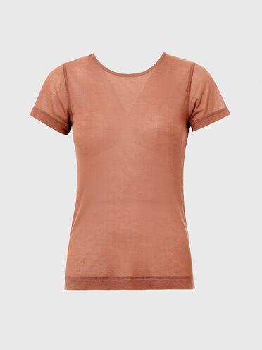 Green Label T-Shirt mit Kette