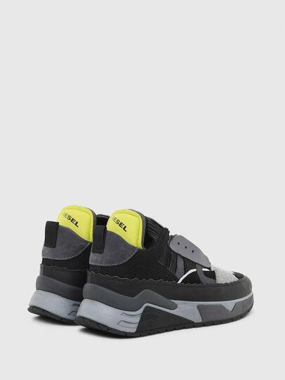 Diesel - S-BRENTHA DEC, Schwarz/Grau - Sneakers - Image 3