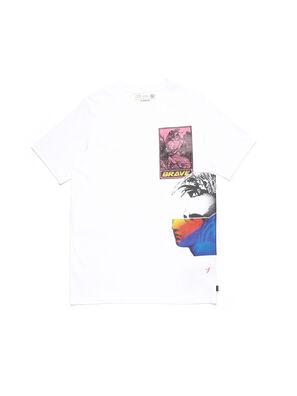 D-5055-W, Weiß - T-Shirts