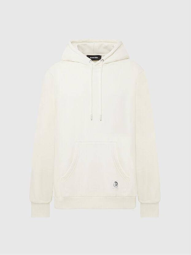 S-GIRK-HOOD-MOHI, Weiß - Sweatshirts