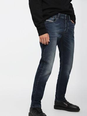 Larkee-Beex 084BU, Dunkelblau - Jeans