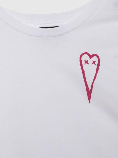 Diesel - TSILYHEARTS, Weiß - T-Shirts und Tops - Image 3