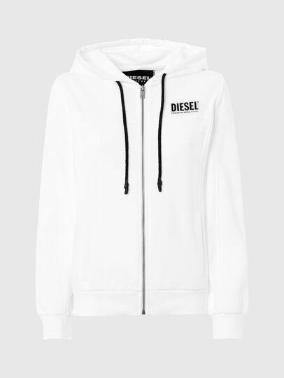 Diesel - UFLT-VICTORIAL-HZ, Weiß - Sweatshirts - Image 1