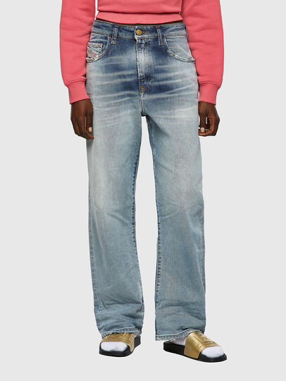 Diesel - D-Reggy 09A04, Hellblau - Jeans - Image 1
