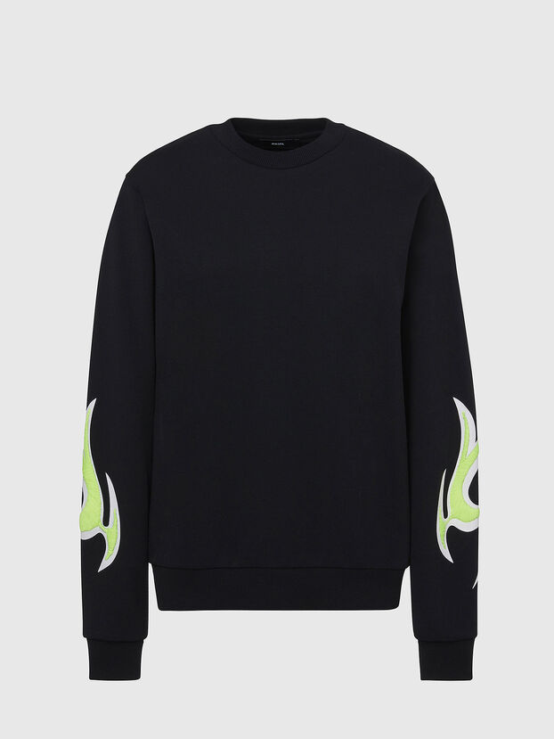 F-ANG-E1, Schwarz - Sweatshirts