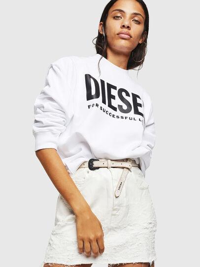 Diesel - F-ANG, Weiß - Sweatshirts - Image 4