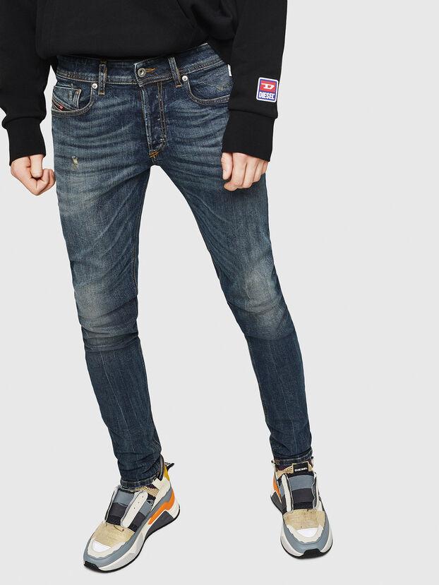 Sleenker 069GC, Dunkelblau - Jeans