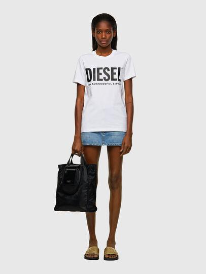Diesel - ELLY, Schwarz - Shopper und Schultertaschen - Image 6