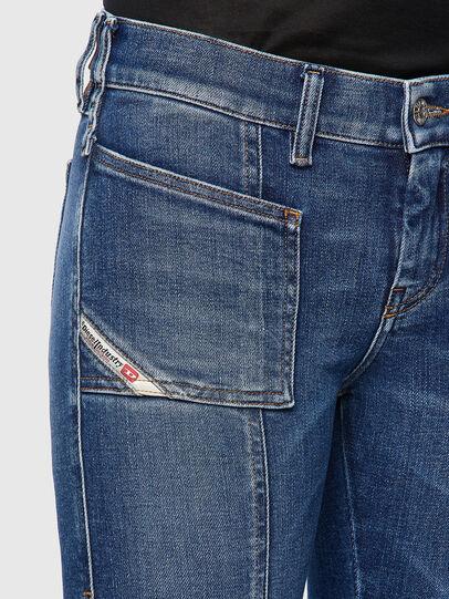 Diesel - Slandy 009ZW, Mittelblau - Jeans - Image 4