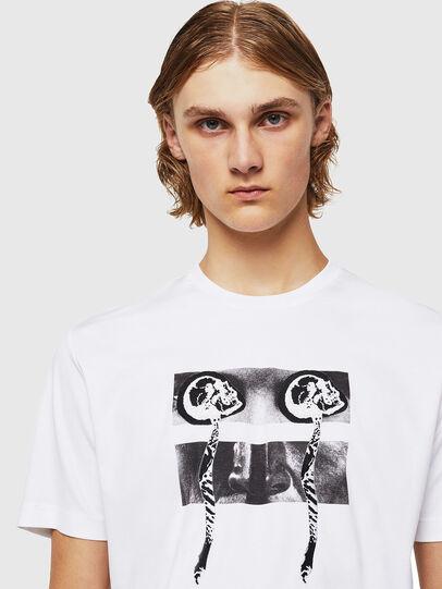 Diesel - TY-X1, Weiß - T-Shirts - Image 4