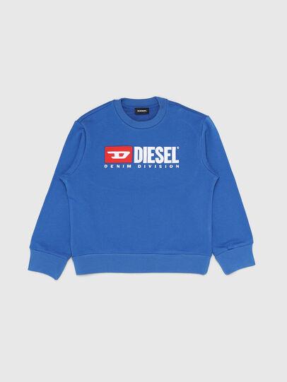 Diesel - SCREWDIVISION OVER, Himmelblau - Sweatshirts - Image 1