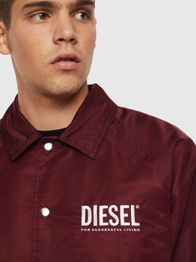 Diesel - J-AKIO-A, Bordeauxrot - Jacken - Image 3