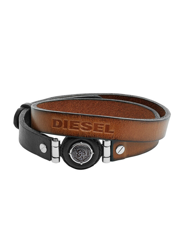 Diesel BRACELET DX1021, Braun - Armbänder - Image 1