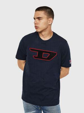 T-JUST-DIVISION-D, Dunkelblau - T-Shirts