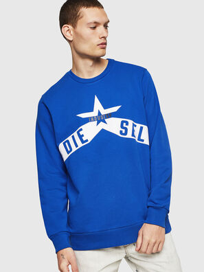 S-GIR-A2, Brillantblau - Sweatshirts