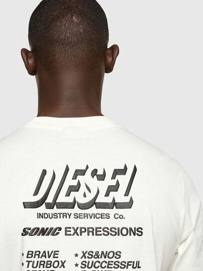 Diesel - T-JUST-A33, Weiß - T-Shirts - Image 4