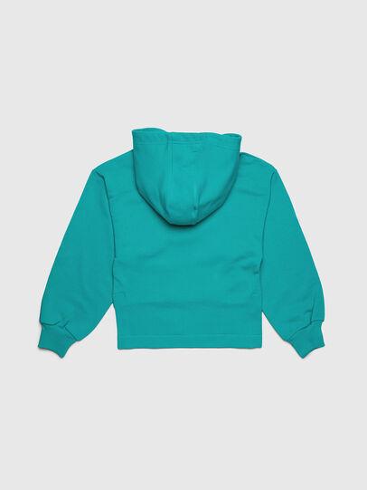 Diesel - SDINIEA, Wassergrün - Sweatshirts - Image 2
