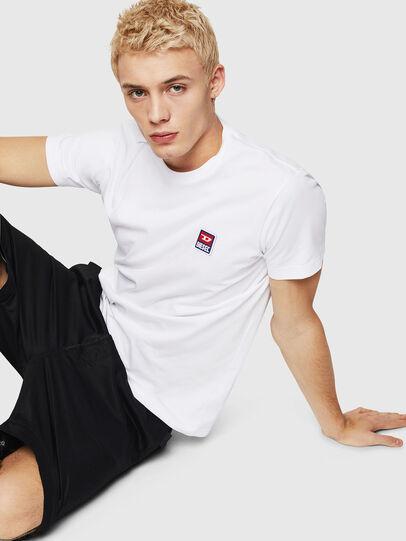 Diesel - T-DIEGO-DIV, Weiß - T-Shirts - Image 7