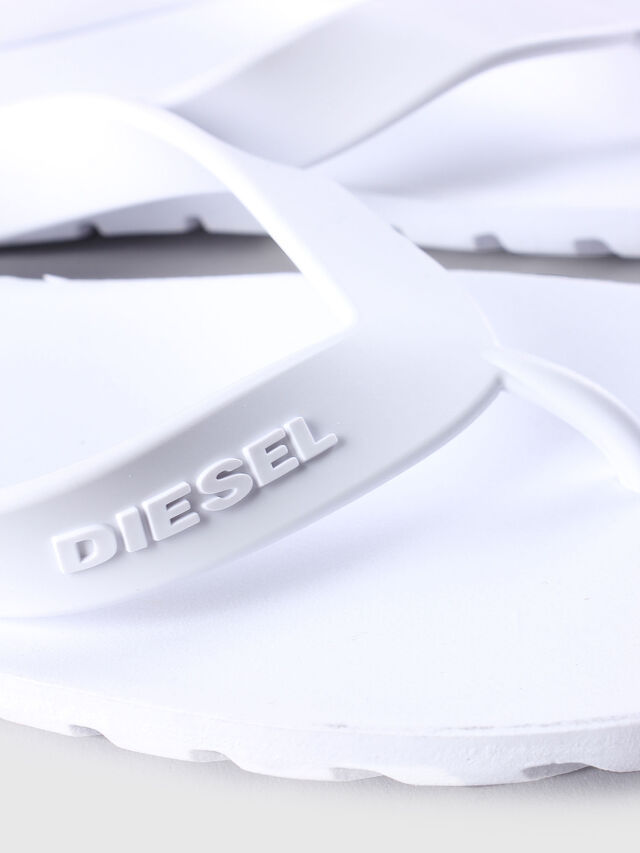 Diesel - SPLISH, Weiß - Pantoletten - Image 4