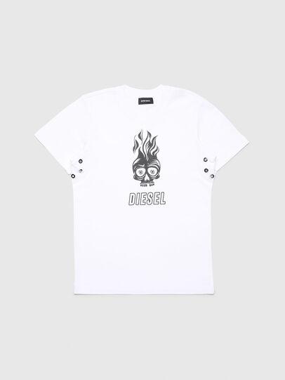 Diesel - TUSILYWQ, Weiß - T-Shirts und Tops - Image 1
