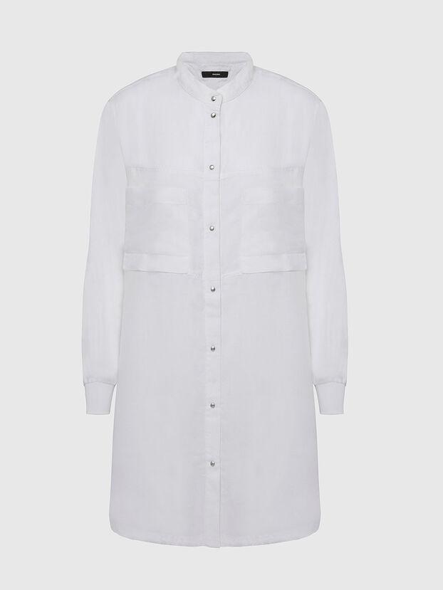 D-SUPER-D, Weiß - Kleider