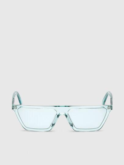 Diesel - DL0304, Azurblau - Sonnenbrille - Image 1