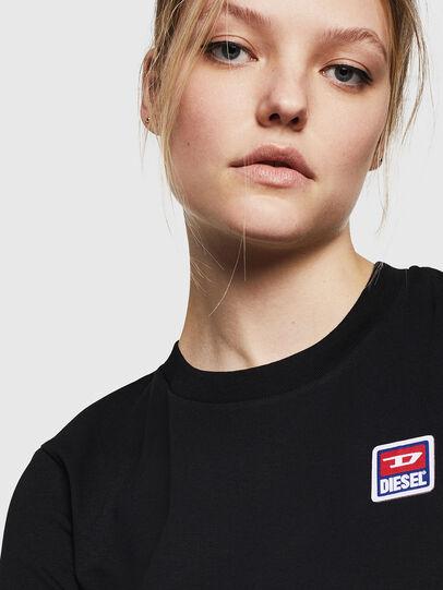 Diesel - T-SILY-ZE, Schwarz - T-Shirts - Image 3