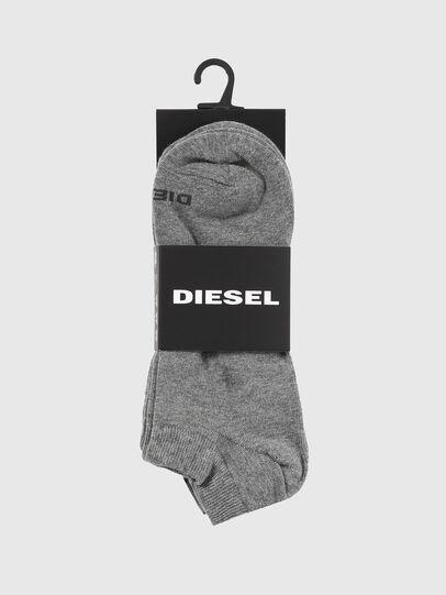 Diesel - SKM-GOST-THREEPACK, Grau - Kurze Socken - Image 2