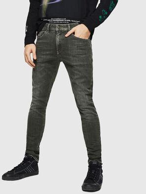 Thommer 0890E, Grün/Grau - Jeans