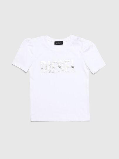 Diesel - TRALLYB-R, Weiß - T-Shirts und Tops - Image 1