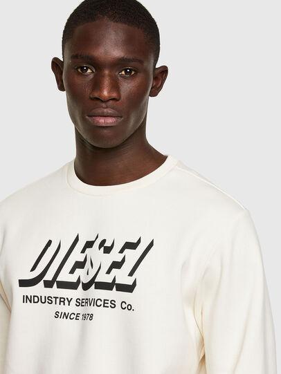 Diesel - S-GIRK-A74, Weiß - Sweatshirts - Image 3