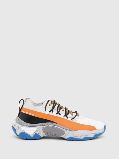 Diesel - S-KIPPER BAND, Weiß/Orange - Sneakers - Image 1