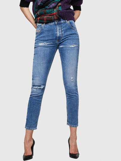 Diesel - Krailey JoggJeans 069IH, Hellblau - Jeans - Image 1