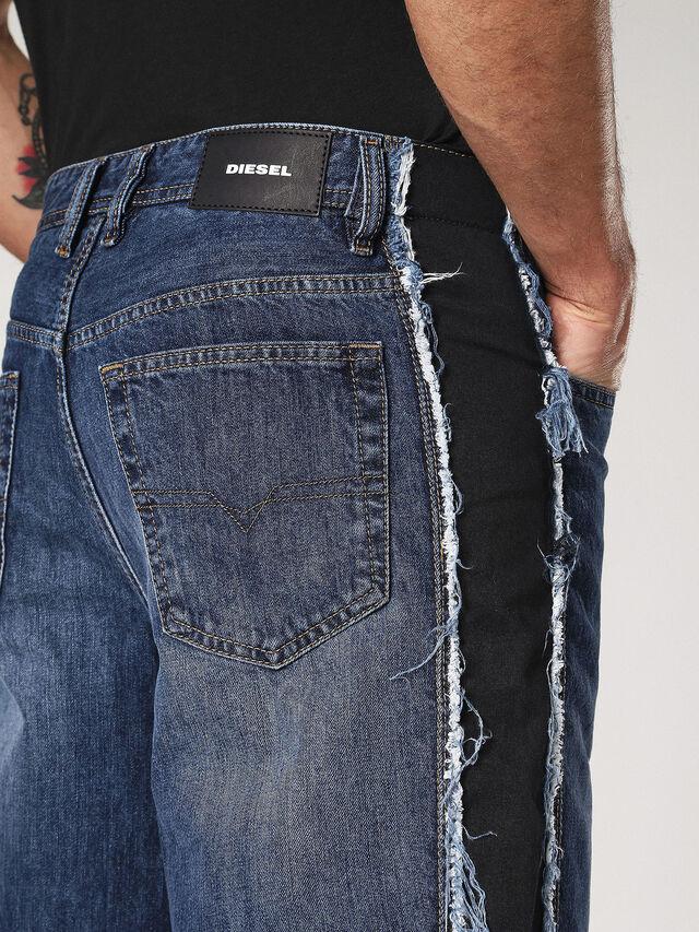 FLIP-E 084TE, Jeansblau