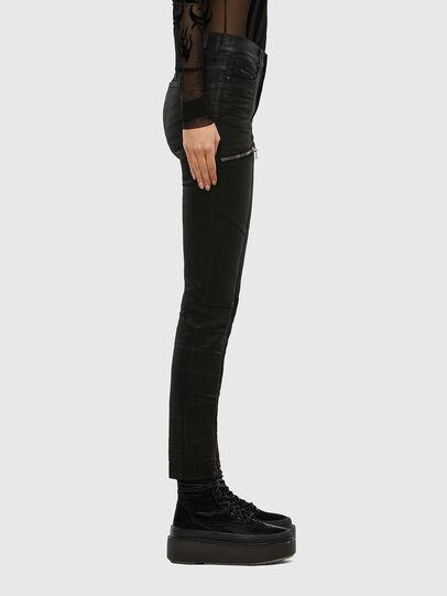 Diesel - D-Ollies JoggJeans 069RK, Schwarz/Dunkelgrau - Jeans - Image 4