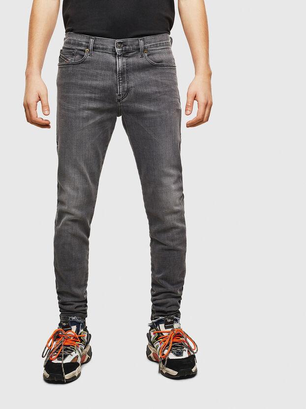 D-Amny 009AJ, Schwarz/Dunkelgrau - Jeans