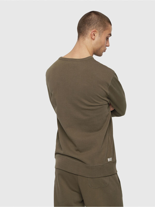 Diesel - UMLT-WILLY, Armeegrün - Sweatshirts - Image 2